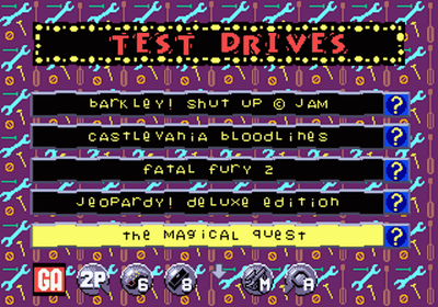 Sega Channel screenshot