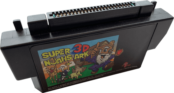 Photo of Super 3D Noah's Ark cartridge