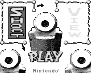 Game Boy Camera title screen
