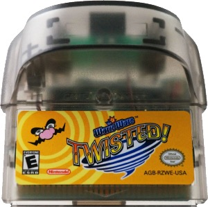 WarioWare: Twisted! cartridge