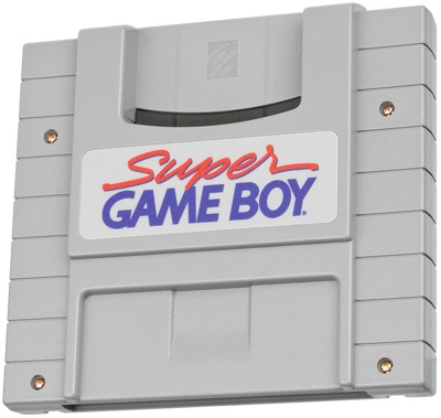Photo of the Super Game Boy
