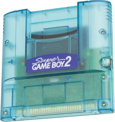 Photo of the Super Game Boy 2
